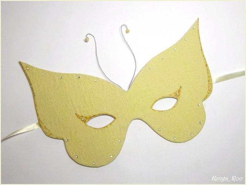 Как сделать маску своими руками из бумаги
